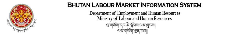 BLMIS: Bhutan Labour Market Information system